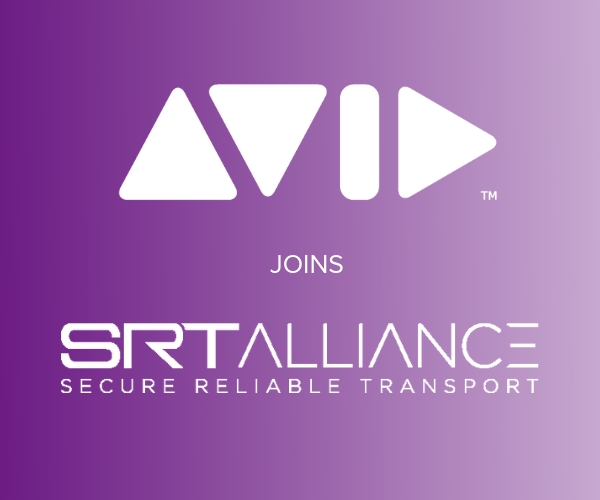 Avid to Present a Technology Preview of SRT and Haivision SRT Hub in Production Workflows at IBC2019