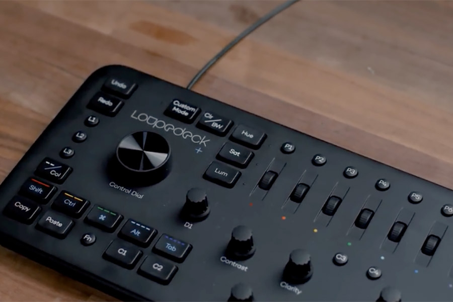 Editing and Color Grading using Loupedeck + in…