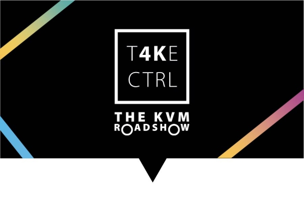The Adder T4KECTRL KVM Roadshow: coming soon to a city near you!
