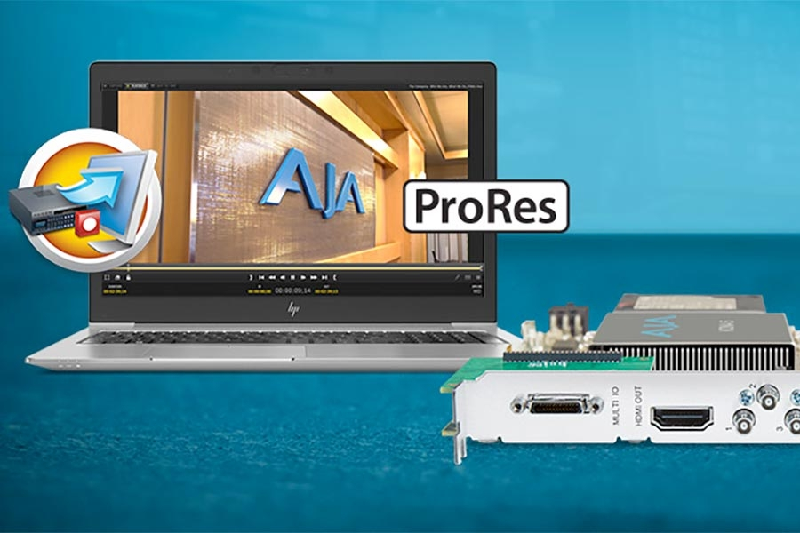 AJA Introduces ProRes Integration in AJA Control Room…