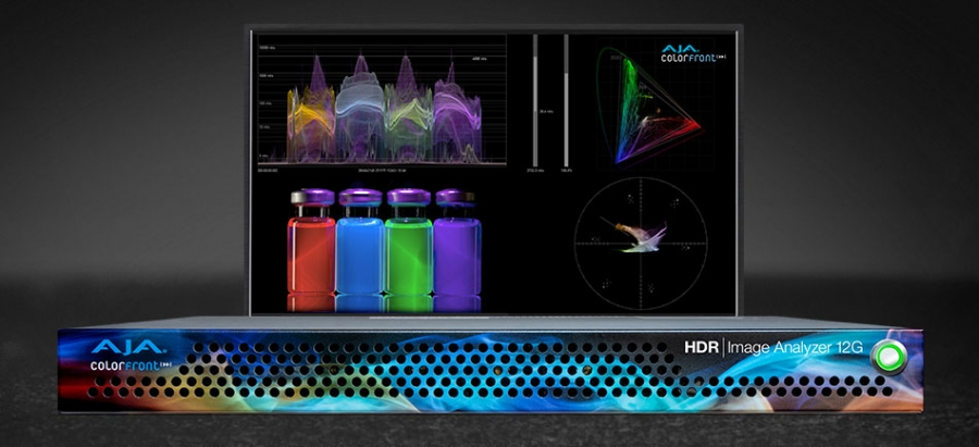 AJA Unveils HDR Image Analyzer 12G at IBC…