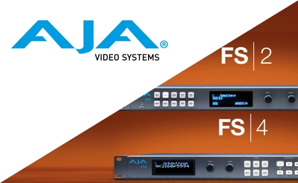 AJA Release Firmware Updates for FS 2 and FS 4