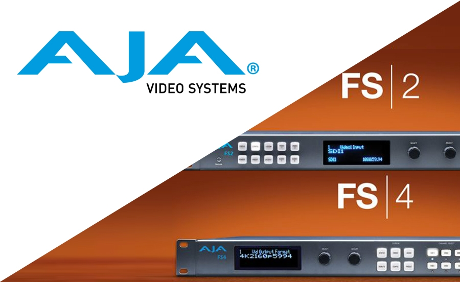 AJA Release Firmware Updates for FS 2 and…