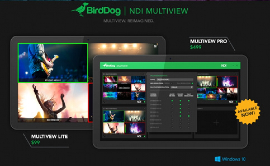 BirdDog Announces NDI Multiview Lite and Multiview Pro