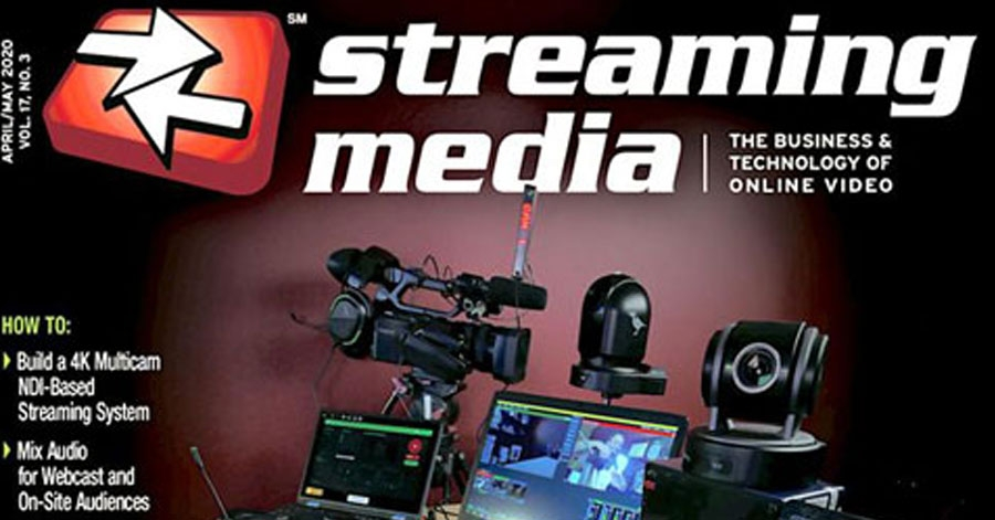 Streaming Media - All in on NDI