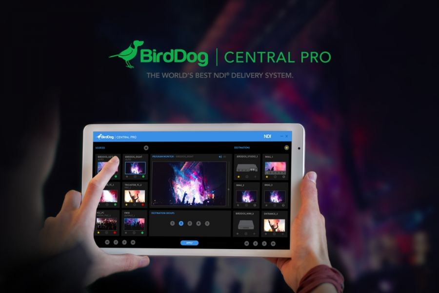 BirdDog announces Central Pro is available to order