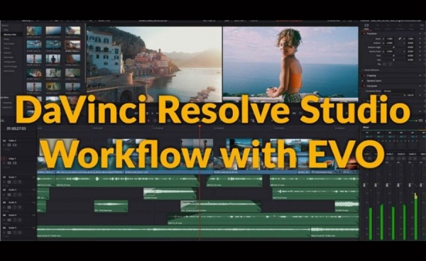 How can your team benefit from using EVO with DaVinci Resolve Studio?