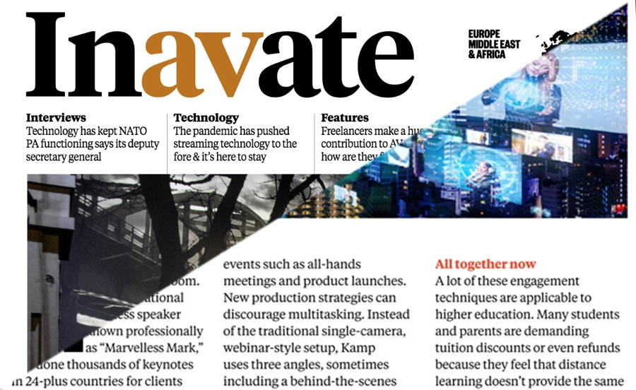 DigiBox and BirdDog Feature in InAVate