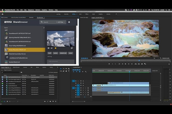 Studio Network Solutions Introduces the New ShareBrowser Panel for Adobe Premiere Pro