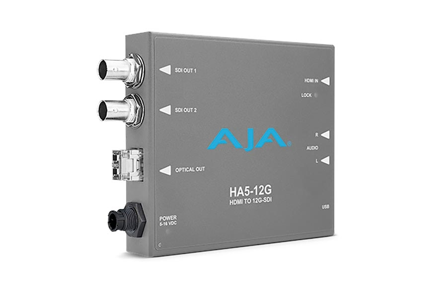 AJA HA5 -12G Mini-Converters Now Available