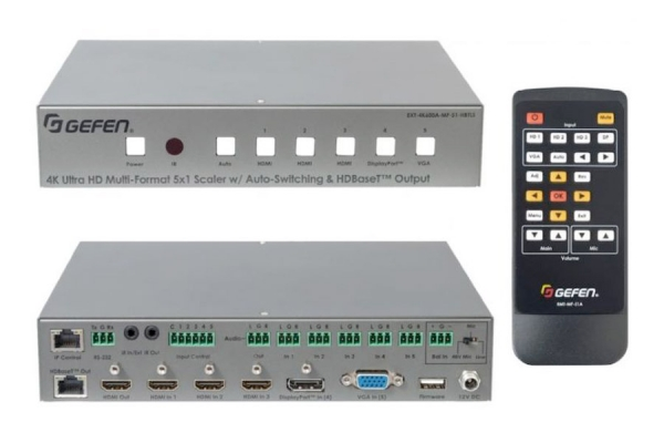 Gefen's 4K Ultra HD 600 MHz Multi-Format Presentation Switcher