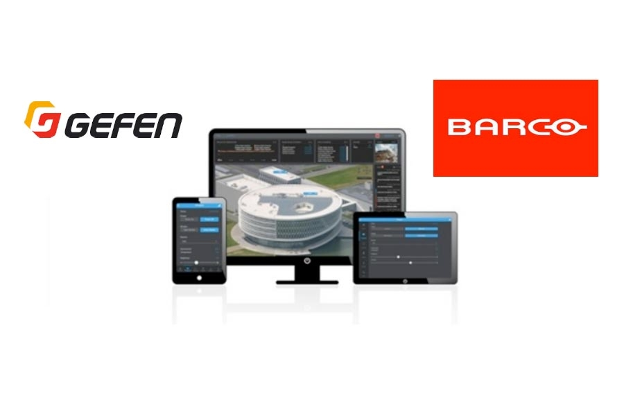 Barco's Overture and Gefen team up to offer…