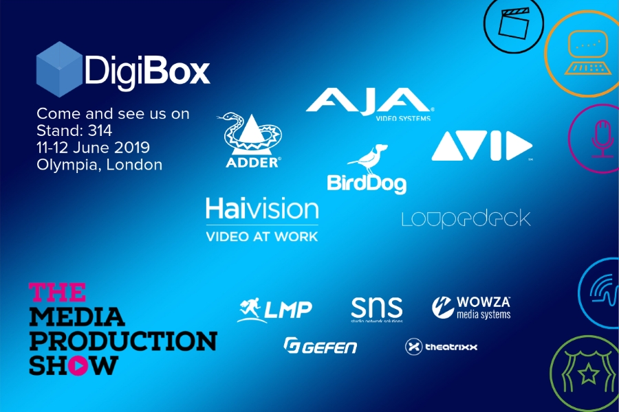DigiBox at Media Production Show 2019