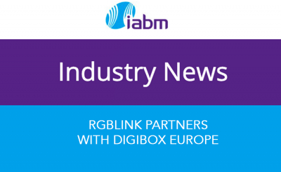 IABM Industry News - RGBlink Partners with DigiBox